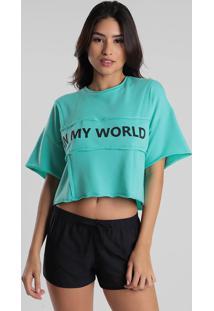 Camiseta Feminina Arrazantty In My Wordl