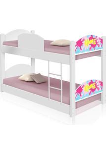 Beliche Infantil Slime Menina Casah - Branco/Rosa - Menina - Dafiti