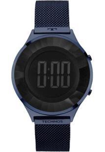 Relógio Technos Feminino Crystal Digital - Feminino-Azul