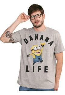 Camiseta Bandup Minions Banana Life - Feminino