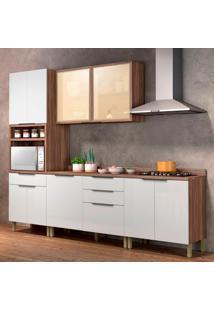 Cozinha Donna Completa - 4 Peças - 500250 - Branco - Nesher