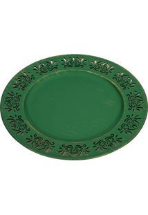 Sousplat Style- Verde- Ø33Cmricaelle