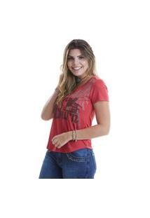 T-Shirt West Dust Asa Vermelho