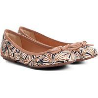 4bf42b7b81 Sapatilha Infantil Shoestock Estampada Feminina - Feminino-Caramelo
