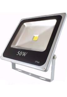 Refletor De Led 50W Ip66 Light Branco