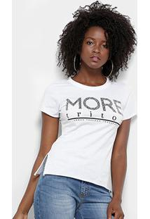 Camiseta Triton Estampa Logo Feminina - Feminino
