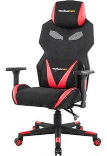 Cadeira Office Pro Gamer Z Preta Com Vermelho - 50122 - Sun House