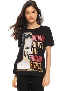 Camiseta Lança Perfume Lettering Preta