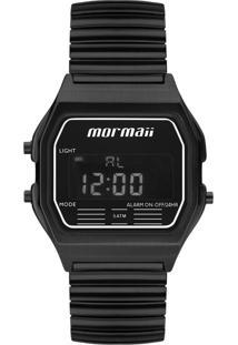 Relógio Digital Mormaii Mojh02Aw4P Preto .