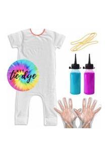 Pijama Comfy Kit Tie Dye Pra Fazer Em Casa
