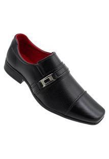 Sapato Social Top Flex Siroco Masculino Top Flex Preto