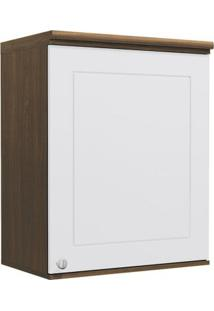 Armário De Cozinha Aéreo Kappesberg Provenzza G622 1 Porta Jacaranda Com Branco