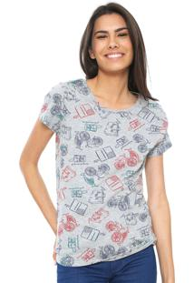 27333e978a22a Camiseta Decote Redondo Hering feminina