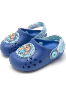Babuche Grendene Kids Menino Azul
