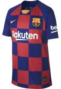 Camisa Infantil Nike Barcelona 1 Torcedor 2019/20