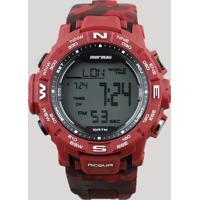 80285436354 CEA. Relógio Digital Mormaii Masculino - Mo1173A8R Vermelho - Único