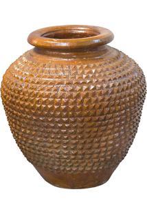 Vaso Vietnamita Design Ceramica Baixo/Medio - 67X32
