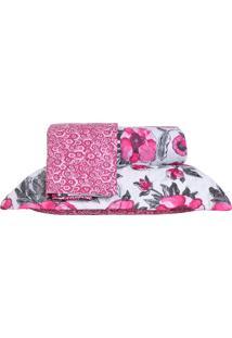 Colcha Ultrassonic Queen Com Porta Travesseiro Poppy