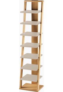 Prateleira Stairway Bege Laca M53