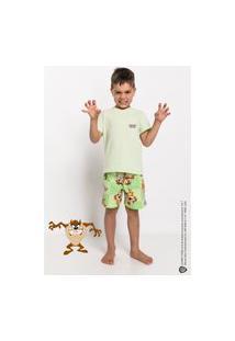 Pijama E Camisola Acuo Pijama E Camisola Verde