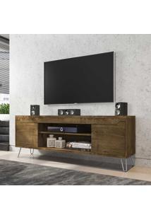 Rack Para Tv Até 60 Polegadas 2 Portas 1 Prateleira Chanel 2075316 Rústico - Bechara Móveis