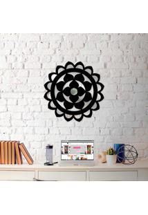 Escultura De Parede Wevans Mandala Geometric + Espelho Decorativo -