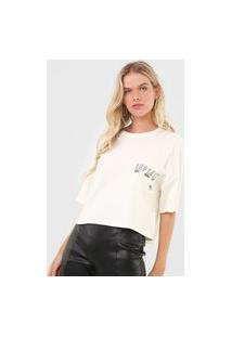 Camiseta Colcci Repense Off-White