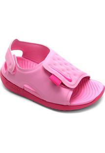 Sandália Infantil Nike Sunray Adjust 5 - Masculino-Rosa Claro+Pink