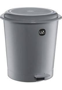Lixeira Plus Cinza 12 L
