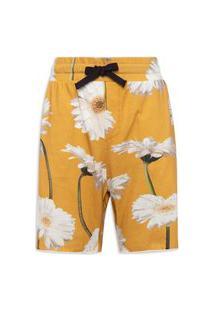 Bermuda Masculina Casual - Amarelo