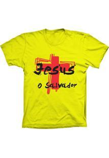 Camiseta Baby Look Lu Geek O Salvador Amarelo