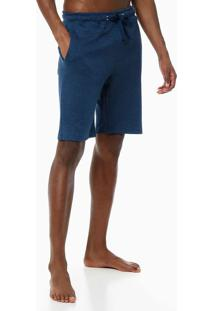 Bermuda Masc Calvin Klein Gloss - Azul Marinho - S