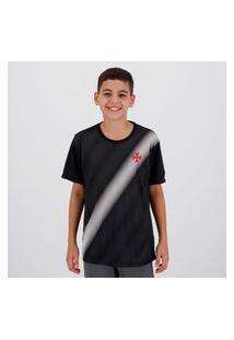 Camisa Vasco Change Infantil Preta