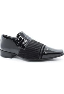 Sapato Masculino Social Couro Verniz Jota Pê 73279