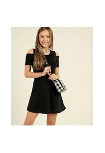 Vestido Juvenil Open Shoulder Marisa Tam 10 A 16