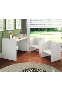 Conjunto De Mesa E Cadeiras Art In Móveis Montessoriano