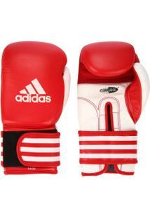 Luvas De Boxe Adidas Última 12 Oz - Vermelho/Branco