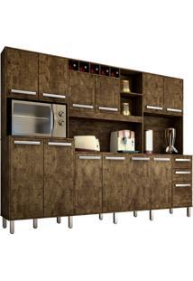 Cozinha Compacta Ágata 13 Pt 2 Gv Ipê