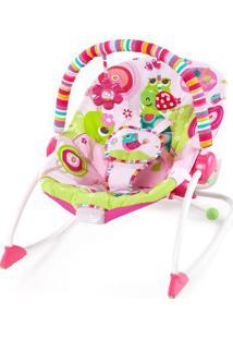 Cadeira De Balanã§O- Pink & Verde Claro- 87X72X61Cmbright Starts