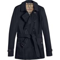 27438a256b Burberry The Chelsea – Short Trench Coat - Preto