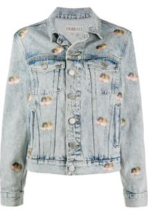 Fiorucci Jaqueta Jeans Mini Angels Nico - Azul