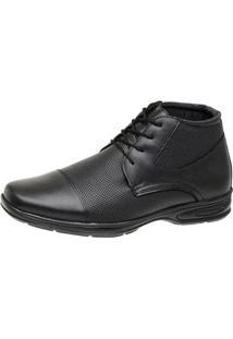 Sapato Social Couro San Lorenzo Conforto Masculino - Masculino