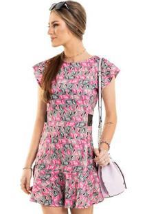 Vestido Gloss Rosa