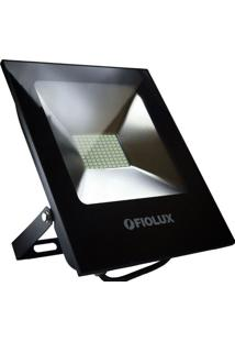 Refletor Led Fiolux 100W Smd Holofote Bivolt