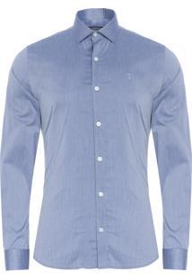 Camisa Masculina Chintz - Azul