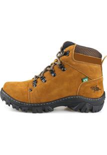 Bota Way Boots Adventure Trilha Cano Mã©Dio Came - Caramelo - Masculino - Dafiti