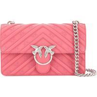 431ff8fc7 Bolsa Couro Pink feminina   Shoes4you