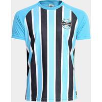 Camisa Grêmio Stripes Masculina - Masculino 093f9d9630b83