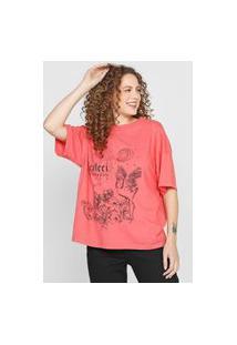Camiseta Colcci Funtastic Rosa