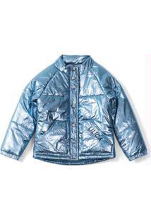Jaqueta Azul Menina